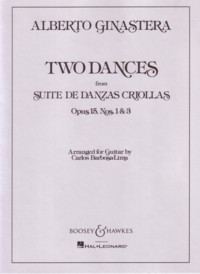 Two Dances, op.15(Barbosa-Lima) available at Guitar Notes.
