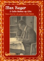 3 Cello Suites, op.131c(Matlik) available at Guitar Notes.