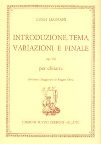 Introduzione, Tema, Variazioni e Finale, op.64 available at Guitar Notes.