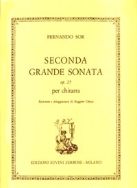 2a. Grande Sonata, op.25(Chiesa) available at Guitar Notes.