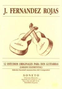12 Estudios available at Guitar Notes.