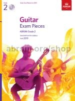 ABRSM Exam Pieces Grade 2 (2019) [BCD] available at Guitar Notes.