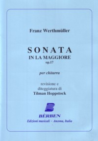 Sonata in A, op.17(Hoppstock) available at Guitar Notes.