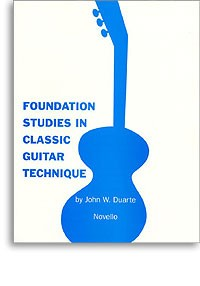 Foundation Studies in Classic Guitar Technique available at Guitar Notes.