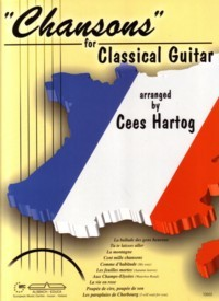 Chansons for Classical Guitar available at Guitar Notes.