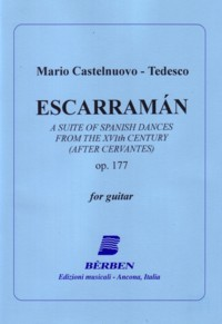 Escarraman, op.177 available at Guitar Notes.