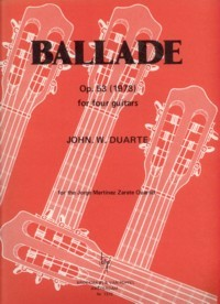 Ballade, op.53 available at Guitar Notes.
