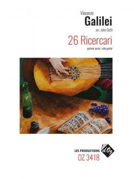 26 Ricercari (Oeth) available at Guitar Notes.