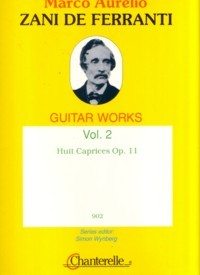 Guitar Works, Vol.2: 8 Caprices op.11 available at Guitar Notes.