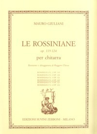 Rossiniana no.2, op.120(Chiesa) available at Guitar Notes.