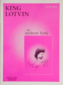 King Lotvin available at Guitar Notes.