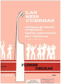 Flores negras available at Guitar Notes.