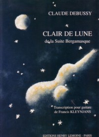Clair de Lune(Kleynjans) available at Guitar Notes.