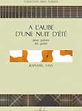 A l'Aube d'une nuit d'ete available at Guitar Notes.