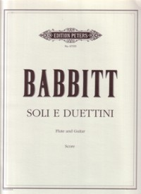 Soli e duettini available at Guitar Notes.