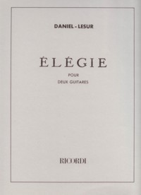 Elegie available at Guitar Notes.