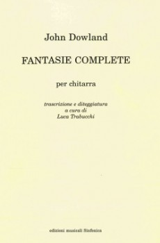 Complete Fantasias (Trabucchi) available at Guitar Notes.