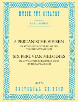 Six Peruvian Melodies available at Guitar Notes.