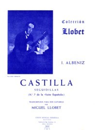 Castilla(Llobet) available at Guitar Notes.