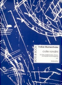 Colle Rondini [Fl/Bcl/Gtr/Db/Perc] available at Guitar Notes.