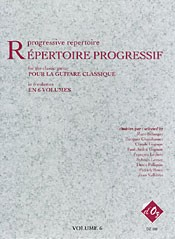 Repertoire Progressif Vol.6 available at Guitar Notes.
