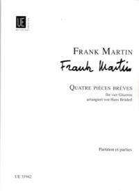 Quatre Pieces Breves available at Guitar Notes.