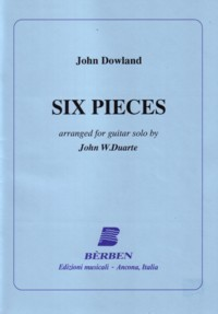 Six Pieces (Duarte) available at Guitar Notes.