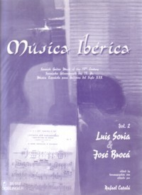 Musica Iberica, Vol.2: Broca & Soria available at Guitar Notes.