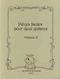 Pieces faciles for two guitars, Vol.2 available at Guitar Notes.