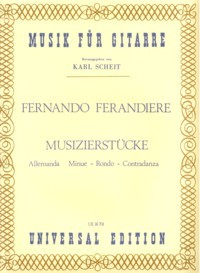 Musizierstucke(Scheit) available at Guitar Notes.