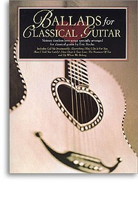 Ballads for Classical Guitar available at Guitar Notes.