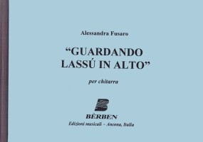 Guardando lassu in alto available at Guitar Notes.