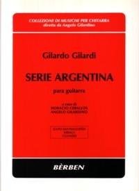 Serie Argentina(Ceballos/Gilardino) available at Guitar Notes.
