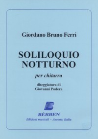 Soliloquio Notturno(Podera) available at Guitar Notes.