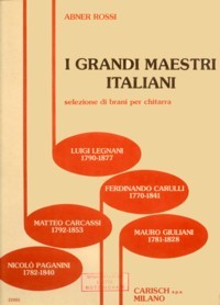 I Grandi Maestri Italiani available at Guitar Notes.