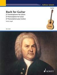 Bach for Guitar (Hegel) available at Guitar Notes.