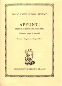 Appunti, op.210, Book 1 available at Guitar Notes.