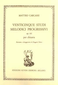 25 Studi melodici progressivi, op.60(Chiesa) available at Guitar Notes.