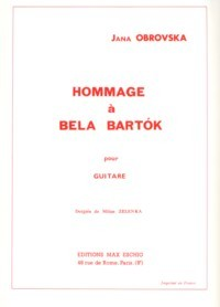 Hommage a Bela Bartok available at Guitar Notes.