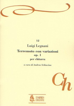 Terremoto con variazioni, op.1(Schiavina) available at Guitar Notes.