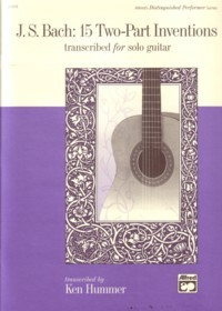 15 Two-Part Inventions, BWV772-786(Hummer) available at Guitar Notes.