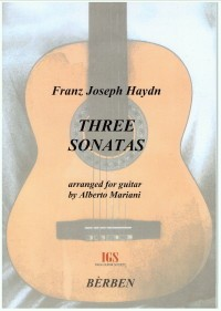 Three Sonatas (Mariani) available at Guitar Notes.
