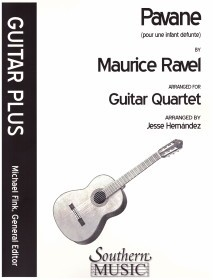 Pavane pour une infant defunte (Hernandez) available at Guitar Notes.