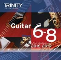 Guitar CD Grade 6-8 2016-2019(NEW) available at Guitar Notes.