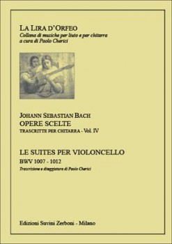 Opere Scelte Vol.4 Cello Suites (Cherici) available at Guitar Notes.