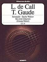 Serenade, op.39 / GAUDE: 6 Waltzes available at Guitar Notes.