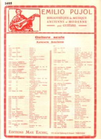 Passacalle(Pujol 1034) available at Guitar Notes.