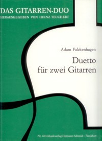 Duetto(Teuchert) available at Guitar Notes.
