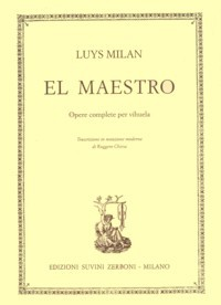 El Maestro(Chiesa) available at Guitar Notes.