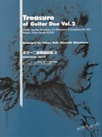 Treasures of Guitar Duo, Vol.2 available at Guitar Notes.